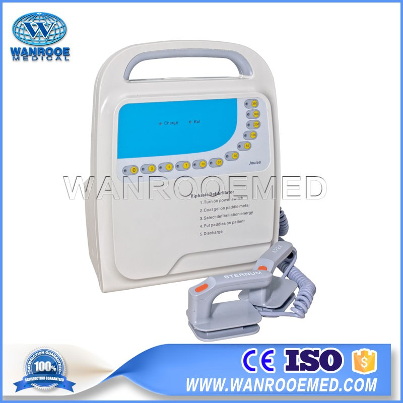 China DEFI-9000B  Portable Automated External Monophasic Defibrillator for Emergency Novel Coronavirus Patient