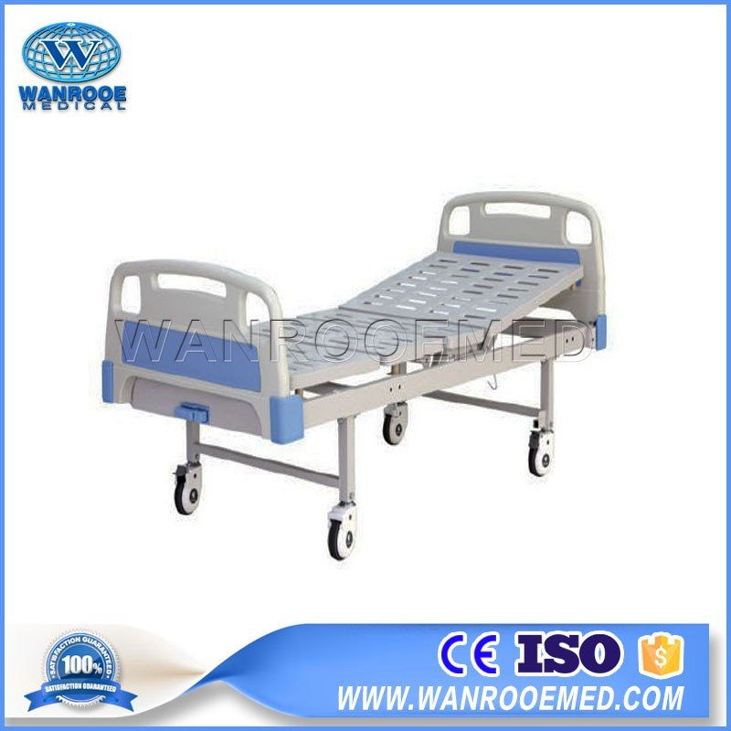 BAM100A Stainless Steel One Crank Or Single Crank Manual Hospital Bed