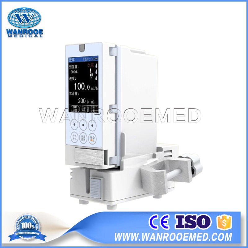 WRSP-5021A Single Double Portable Medical Digital Clinic Electric Syringe Pump
