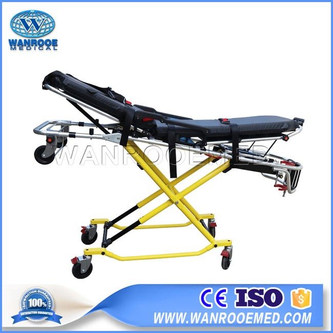 China EA-3G Hospital Novel Coronavirus Patient Transport  Folding Ambulance Stretcher