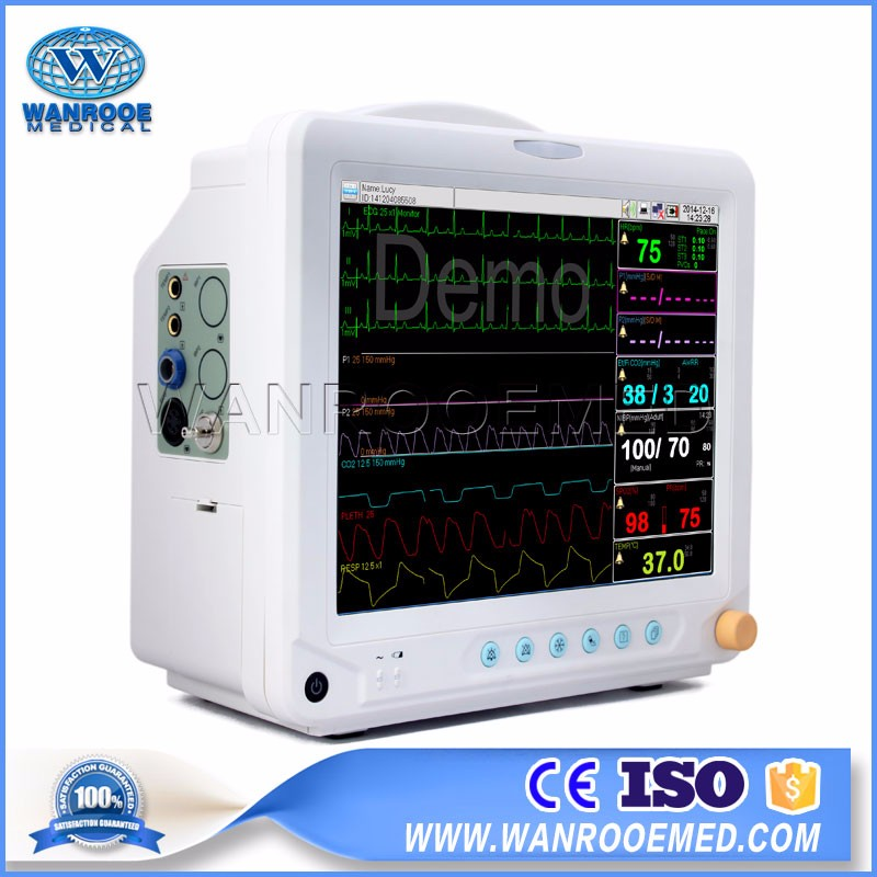 China F5 Multi-parameter Medical Novel Coronavirus Patient Monitor