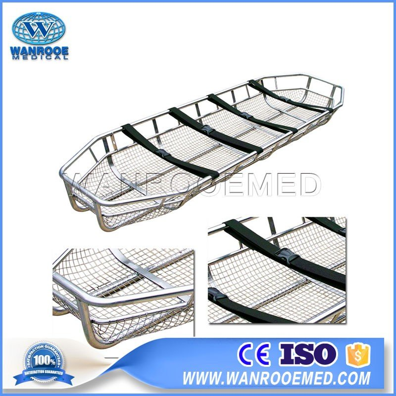 EA-7C Stainless Steel Rescue Basket Stretcher For Helicopter