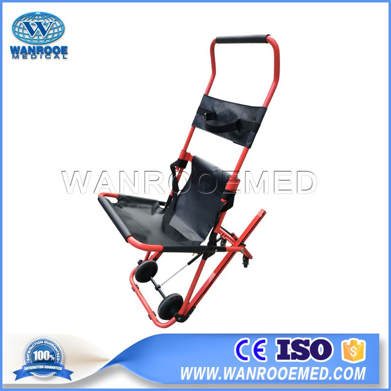 EA-6G Hospital Medical Manual Folding Evacuation Stair Stretcher Evacuation Chair