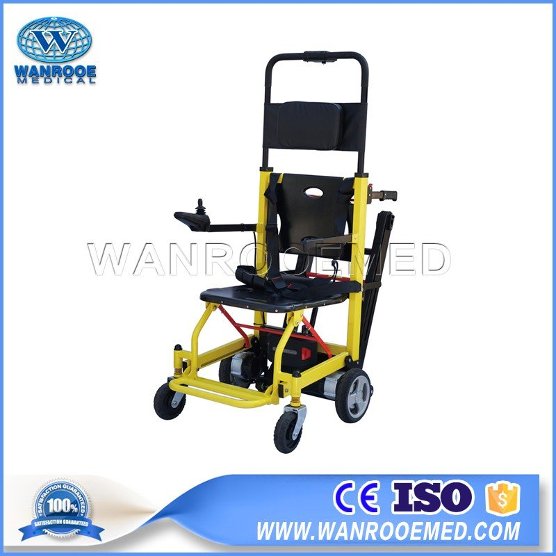 EA-8FPN Medical Folding Electric Stair Climbing Wheelchair Electric Trolley Cart