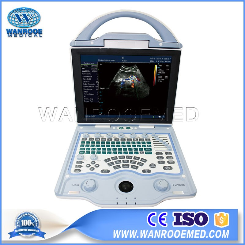 USDCU12 Full Digital Laptop Animal Ultrasound Veterinary Color Doppler Ultrasound Machine