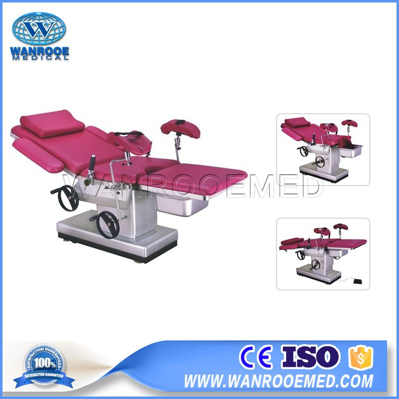 A-C102C Medical Examination Electric Birthing Table Delivery Bed