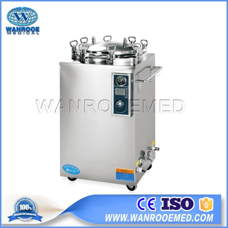 LS-LD Series Medical Digital Display Automatic Vertical Steam Sterilizer Autoclave
