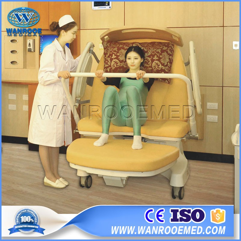 ALDR100E Hospital Furniture Electric Gynecology Chair Obstetric Delivery Table