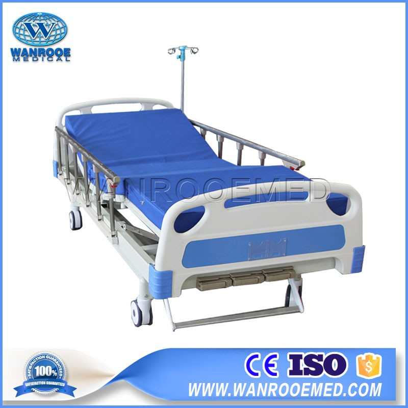 BAM302B Three Function Manual Medical Bed With Centrol Lock