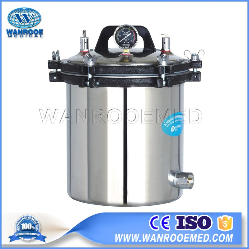 YX-LM Series Medical Portable Stainless Steel Electric Pressure Steam Sterilizer Autoclave