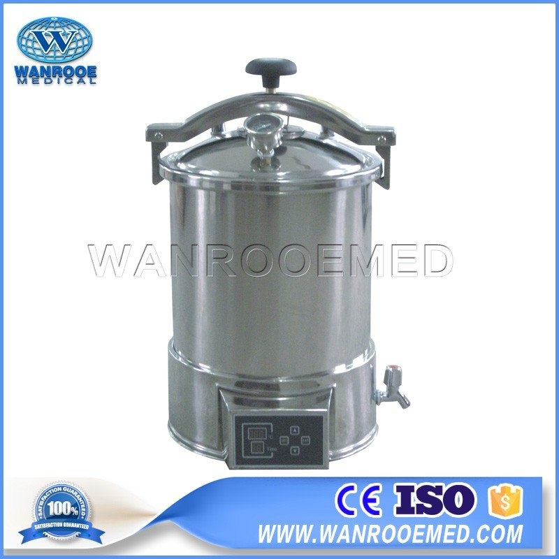 YX-HDD Series Portable Pressure Steam Sterilizer Stainless Steel Autoclave