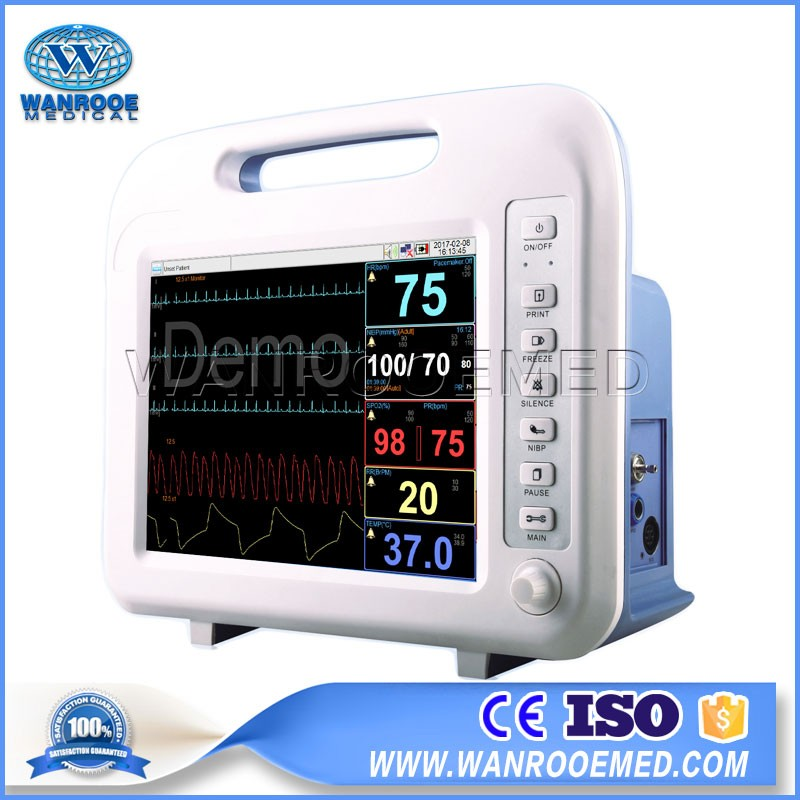 F6 V1.0 12.1 inches LCD Display Multi-parameter Hospital Patient Monitor For Sale
