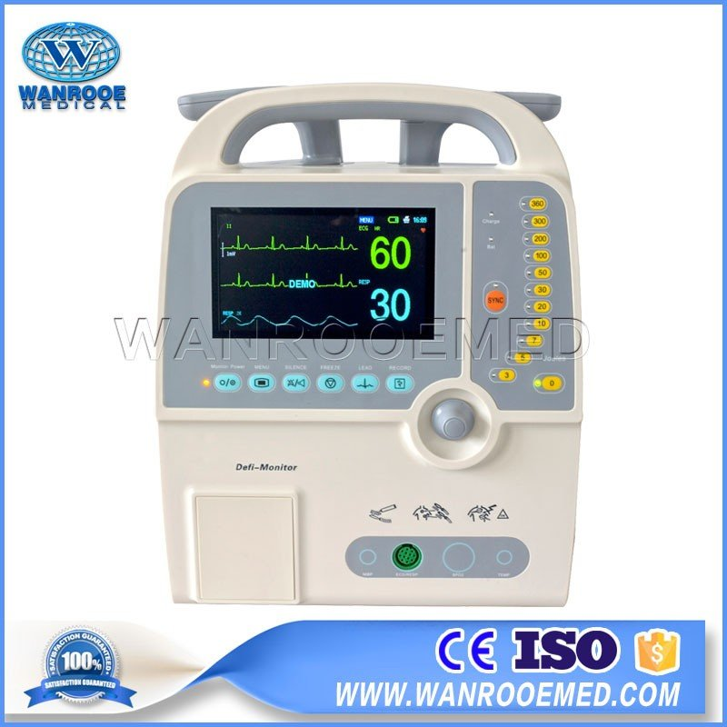DEFI-9000D Hot Selling Portable Monophasic Cardiac Defibrillator