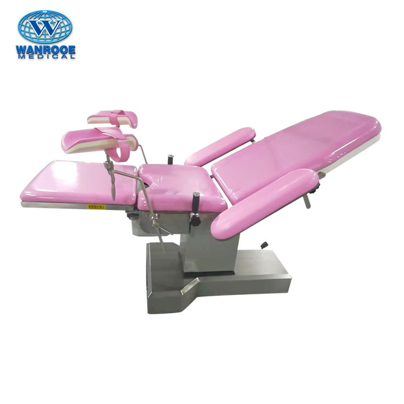 A-8807 Electric Stainless Steel Obstetric Delivery Table