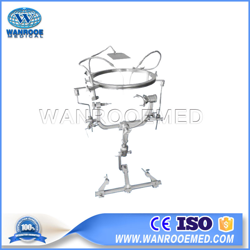 AOTA303-A008 Hospital Halo Brain Retractor System For Surgical Operating Table Skull Clamp