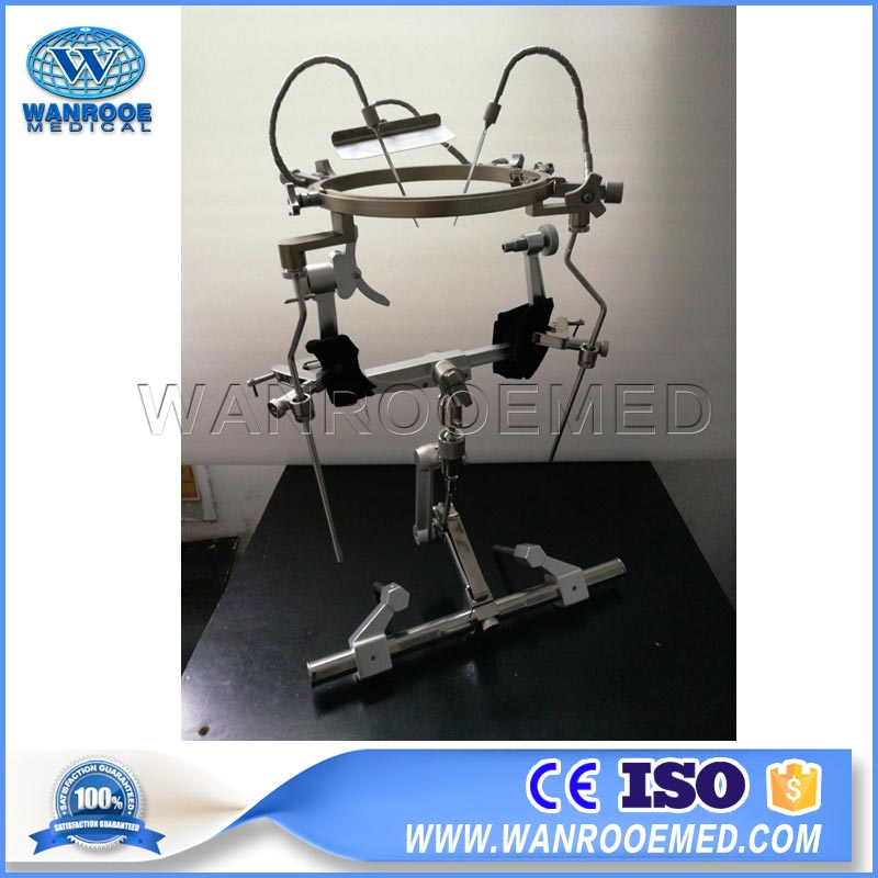 AOTA303 Hospital Medical Precise Instrument Head Skull Clamp Frame With Adult Neuro Base Holder
