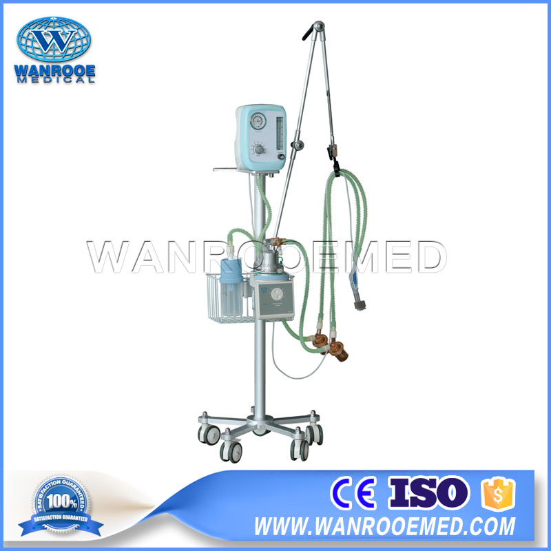 NLF-200D Hospital CPAP System Medical Neonatal Breathing Apparatus Ventilator Machine
