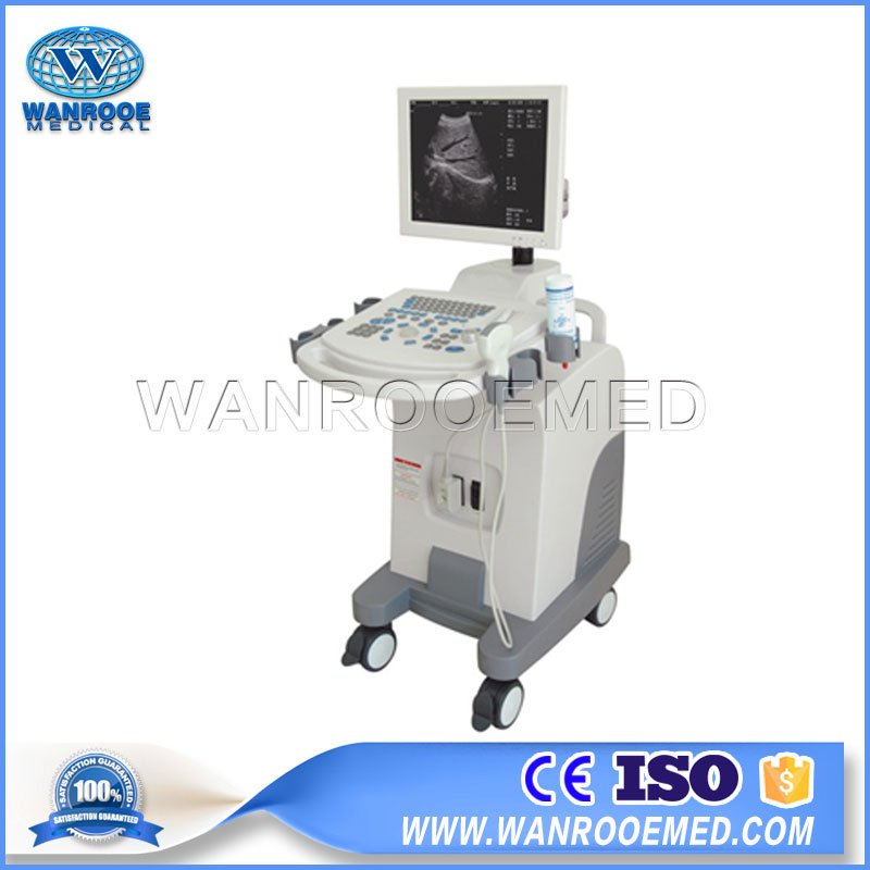 US370 Medical Portable Full-Digital Trolley Pregnancy Fetal Diagnostic Ultrasound Scanner Machine
