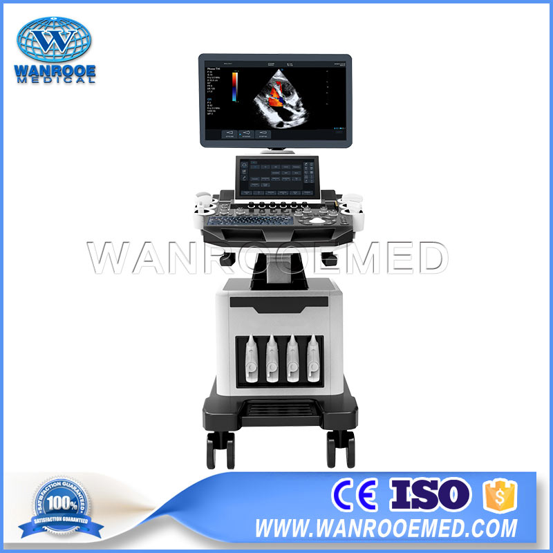 UST70 Hospital High-end Cardiac Panoramic 4D Mobile Color Doppler Ultrasound Scanner